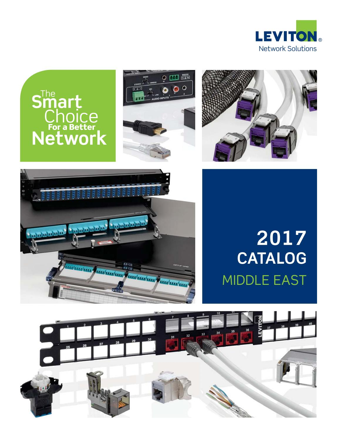 Leviton 2017 Catalogue Middle East by SENTOR ELECTRICAL - issuu