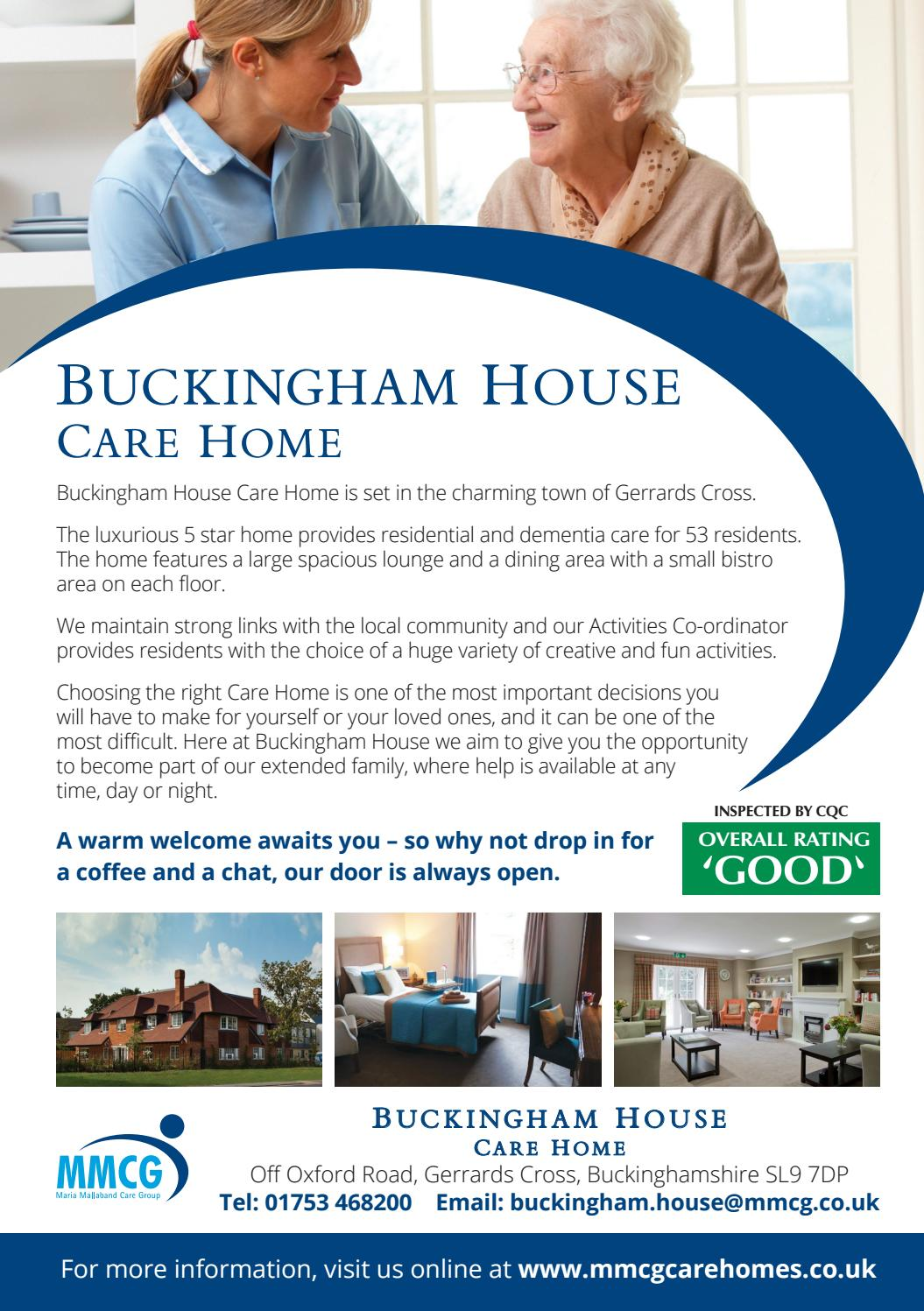 Beaconsfield local may june 2017 by kay hicks issuu for Buckingham choice floor plans