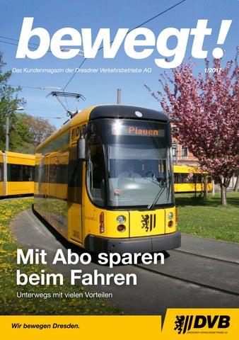c45857d0fcea0 bewegt! 01 17 - Kundenmagazin der DVB by Dresdner Verkehrsbetriebe ...
