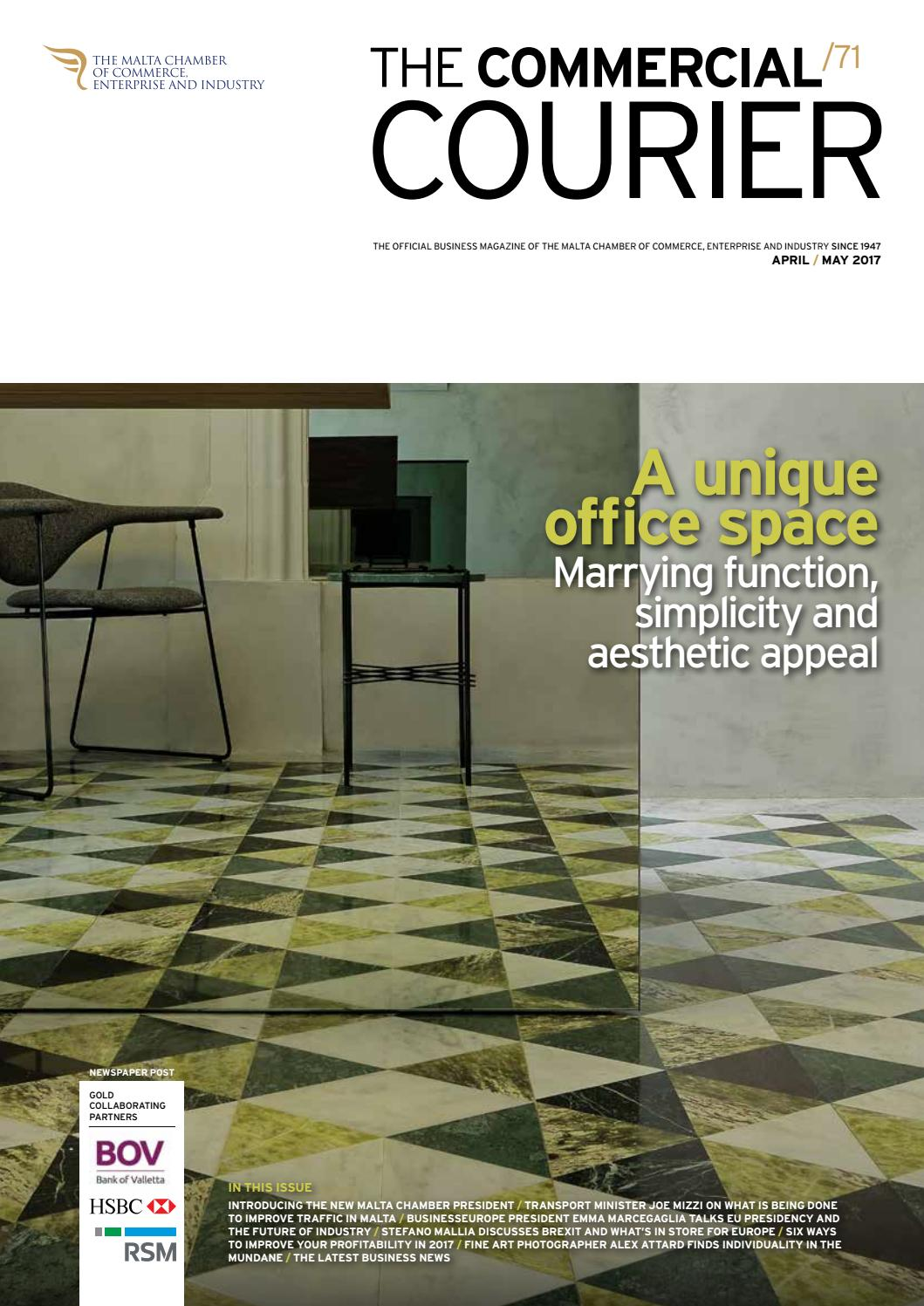 e6e848a345 The Commercial Courier April May 2017 by Content House Group - issuu