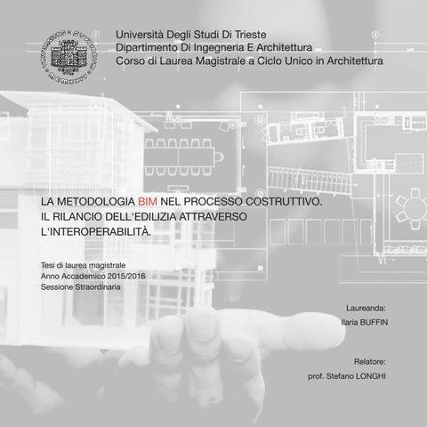4703b6a1fa1c La metodologia BIM nel processo costruttivo. Il rilancio dell'edilizia  attraverso l'interoperabilità
