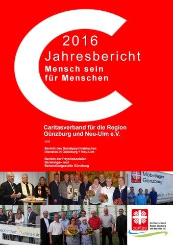 Jahresberich 2016 Caritasverband Für Die Region Günzburg Und Neu ...