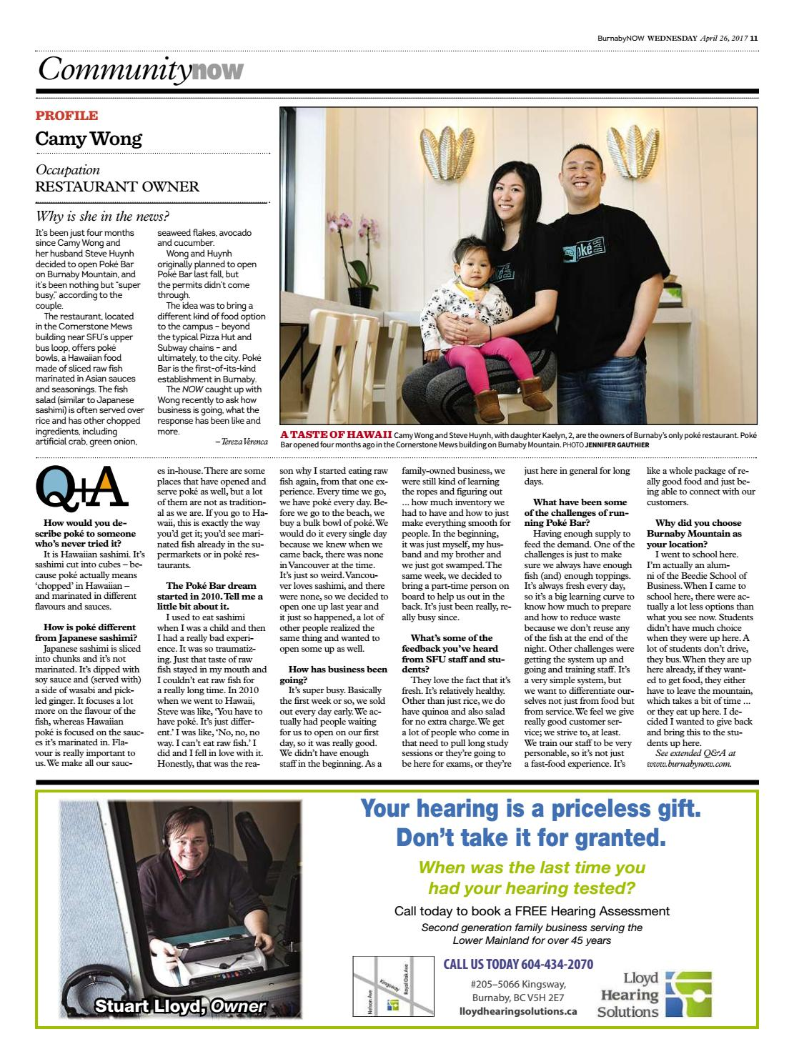 Burnaby Now April 26 2017 by Burnaby Now - issuu