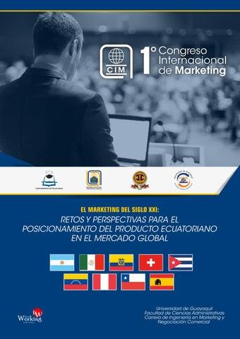 18cdb662c 1º Congreso Internacional by Ciencias Administrativas UG - issuu