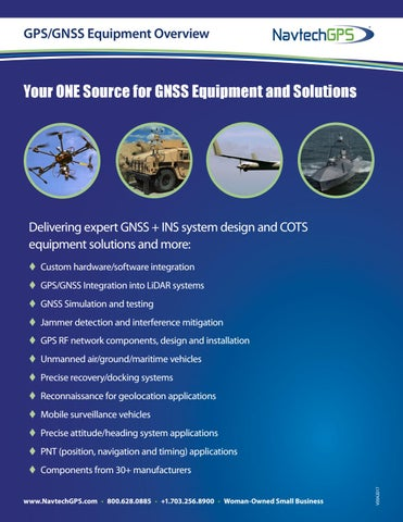 NavtechGPS Featured Products Brochure by NavtechGPS - issuu