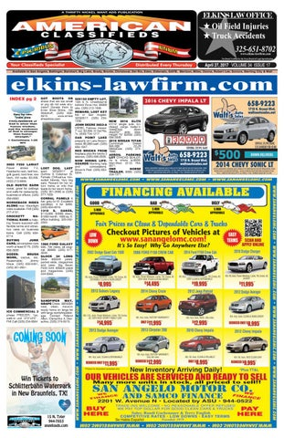 San angelo american classifieds 042717 by san angelo american page 1 fandeluxe Gallery