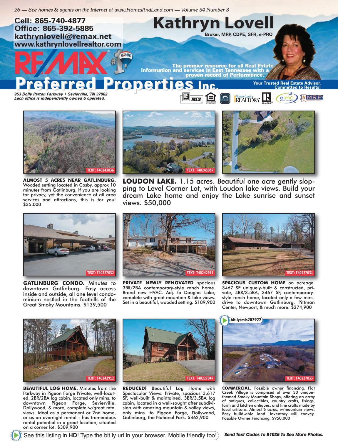 Homes & Land of the Smokies Vol 34 Issue 3