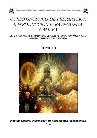 CursoGnostico dePreparación e introducción paraSegunda CamaraTomoIII ...