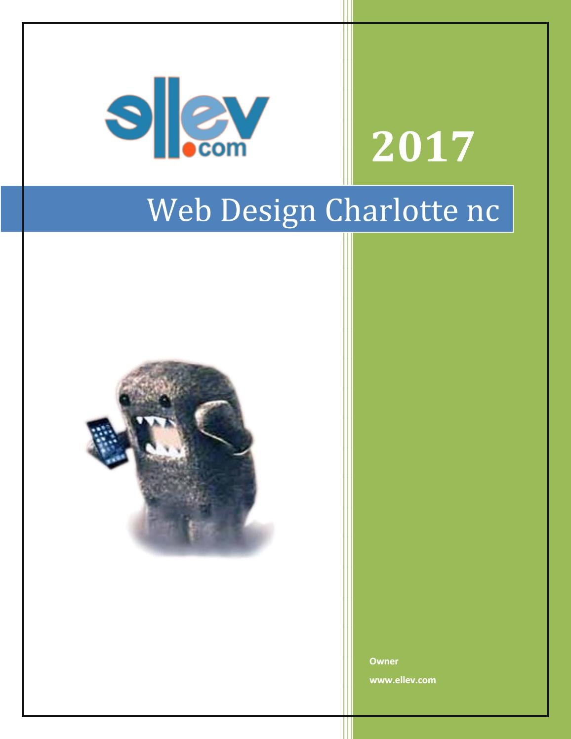 Web Design Charlotte Nc By Ellev Issuu