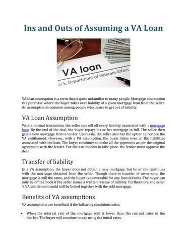 Va Loan Book