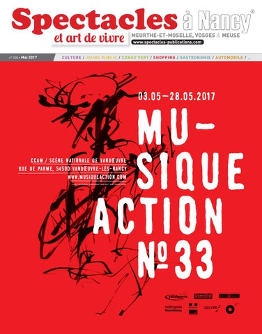 Spectacles Publications Nancy N338 Mai 2017 By SPECTACLES