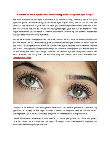 Careprost eye drops buy online, usa, uk by bestbuymedsonline
