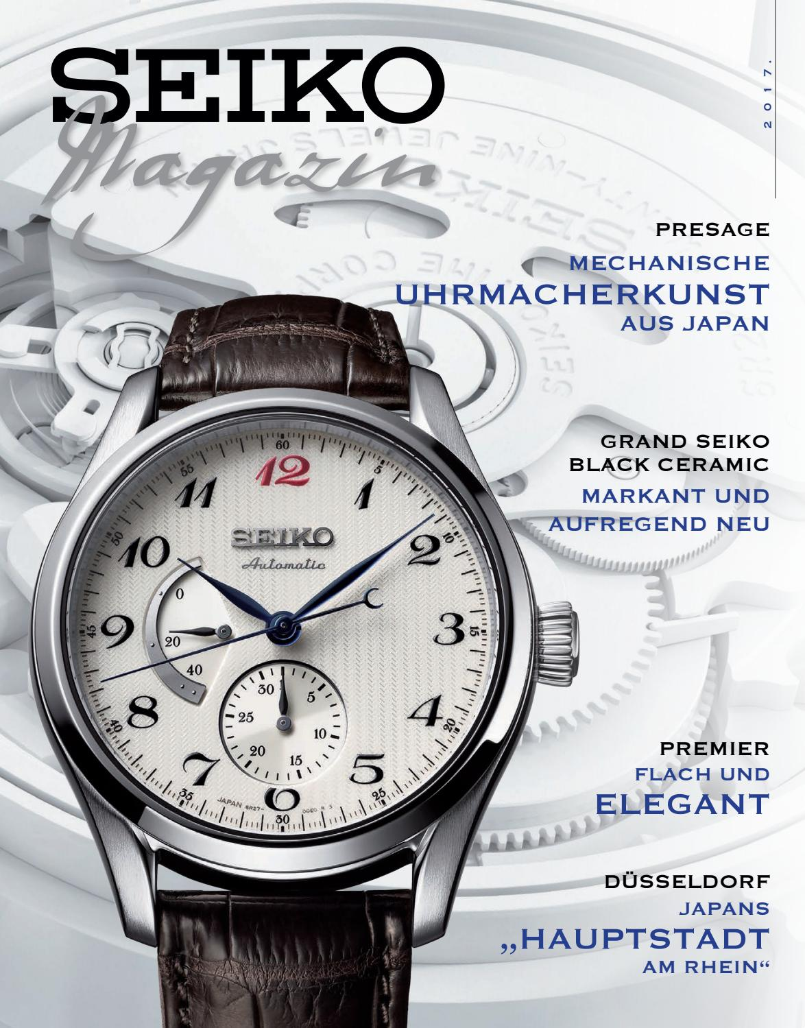 Seiko Magazin 2017 by SEIKO - issuu