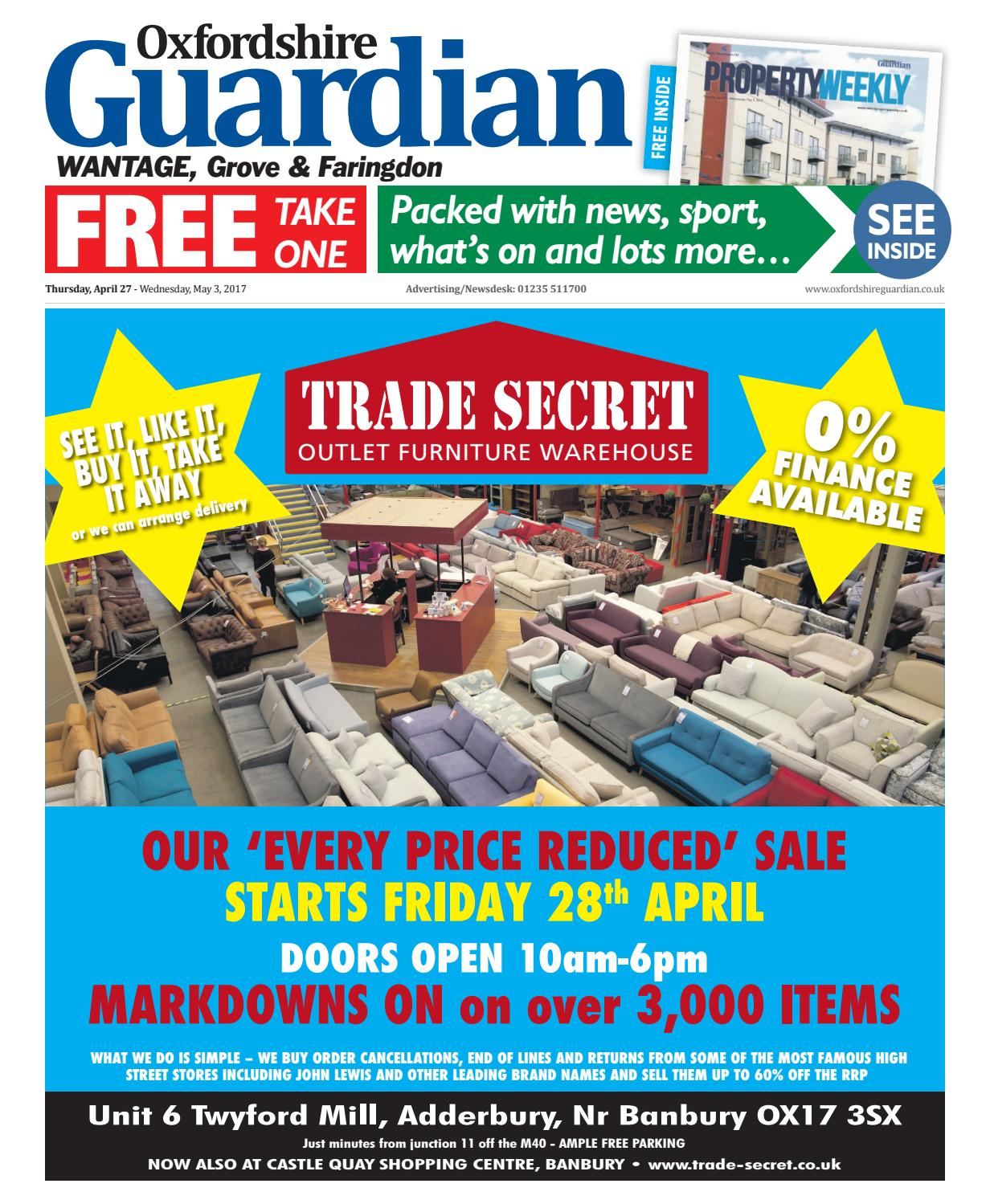 27 April 2017 Oxfordshire Guardian Wantage By Taylor Newspapers Issuu 1995 Gm Fleetwood Brogh 57 Fuse Box Diagram