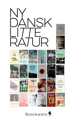 nyere dansk litteratur