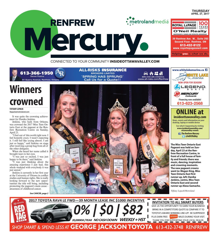 low priced a6905 eb2c0 Renfrew042717 by Metroland East - Renfrew Mercury - issuu