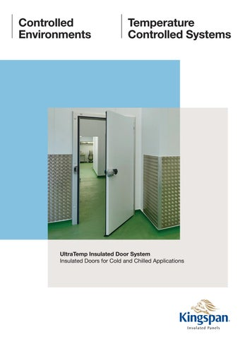Page 1  sc 1 st  Issuu & Kingspan Insulated UltraTemp Door Systems by Kingspan Insulated ...