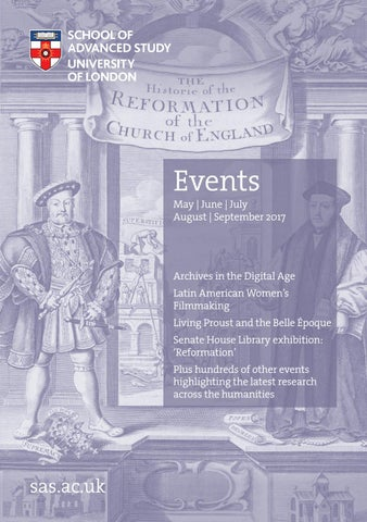 Events brochure may sept 2017 by school of advanced study issuu page 1 fandeluxe Images