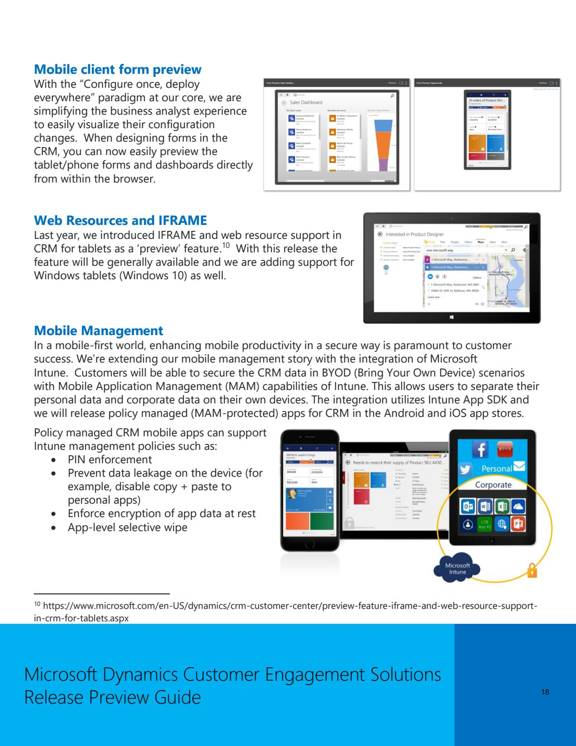 Ebook Dynamics CRM 2016 - Release preview guide by ANEGIS