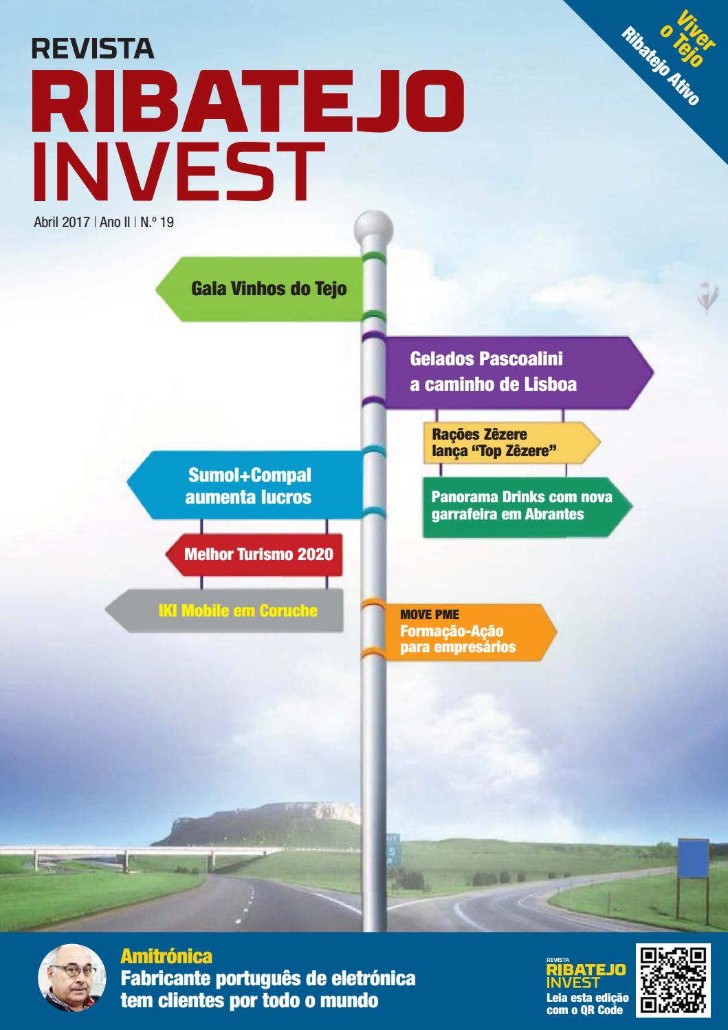 Revista Ribatejo Invest   abril 2017 by NERSANT Associação Empresarial -  issuu f10c01747ae38