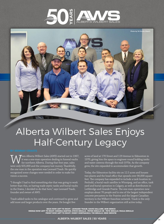 Alberta wilbert sales web by Business in Calgary - issuu