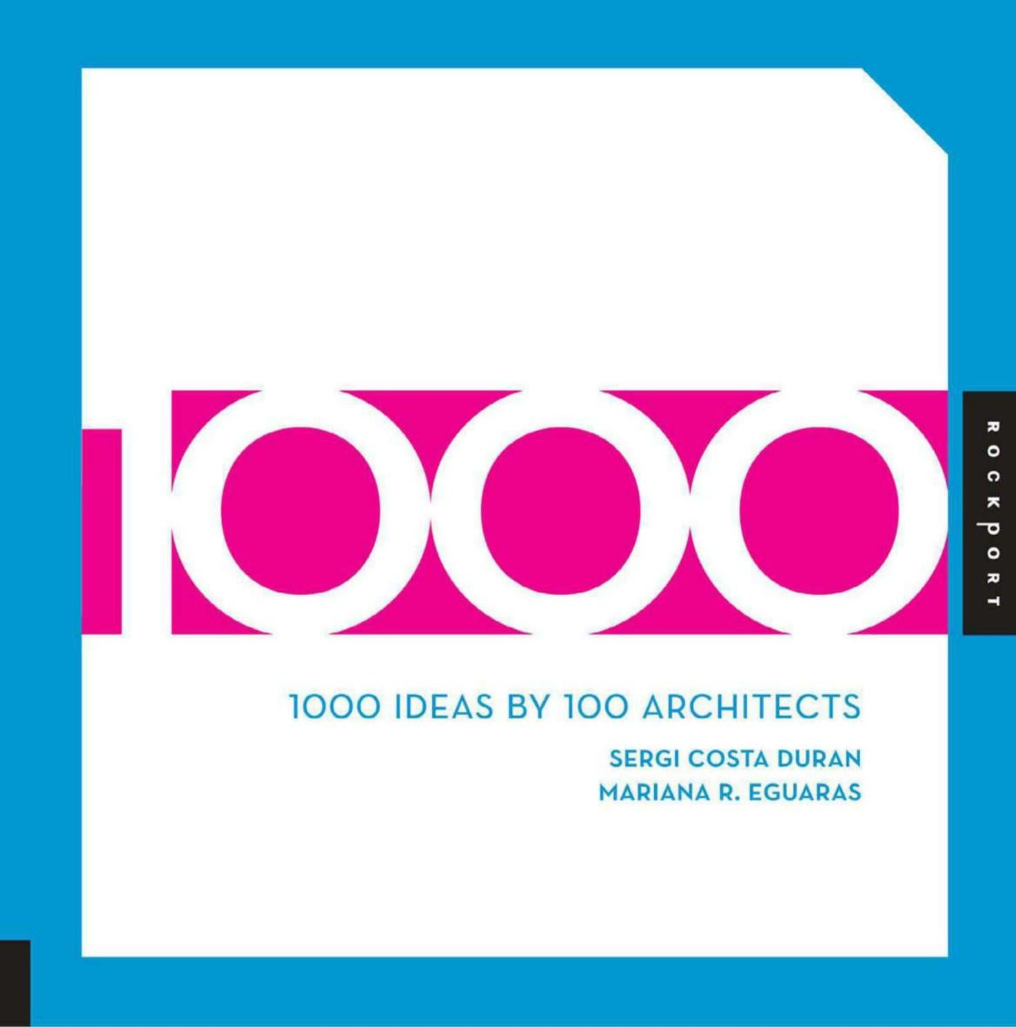 1000 Ideas By 100 Architects Sach