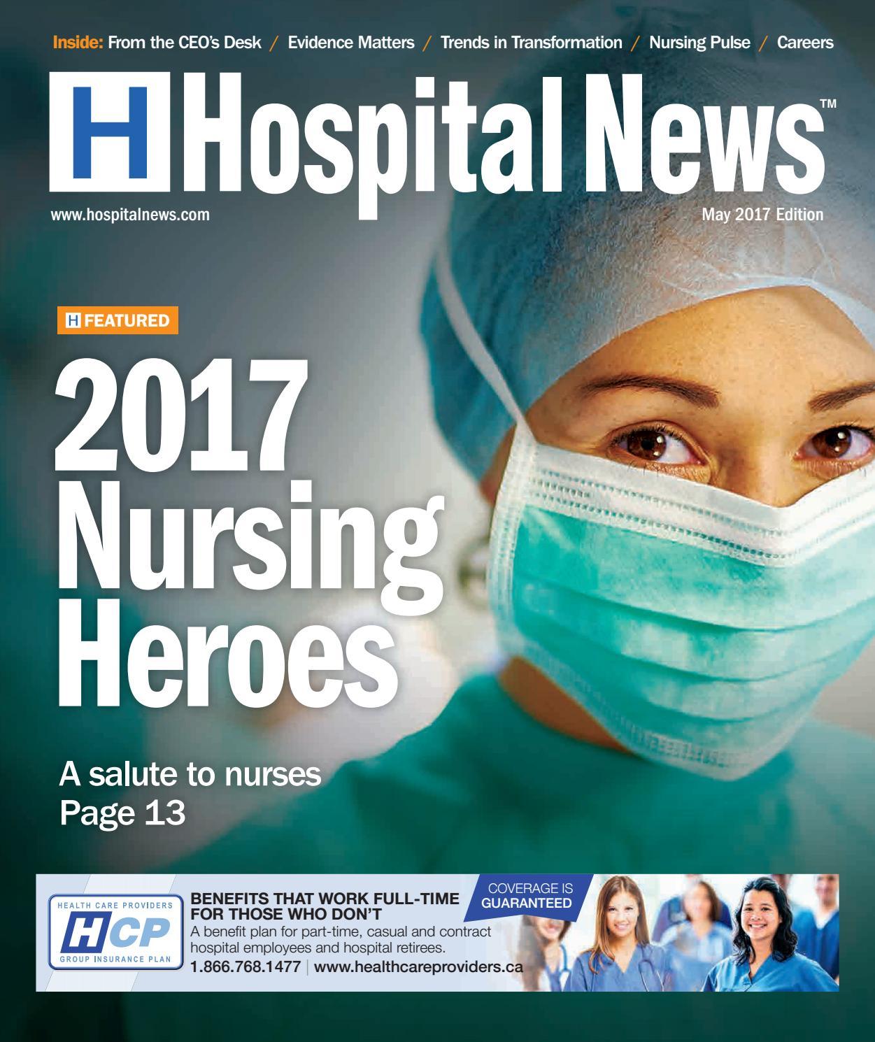 Hospital News 2017 May Edition by Hospital News - issuu