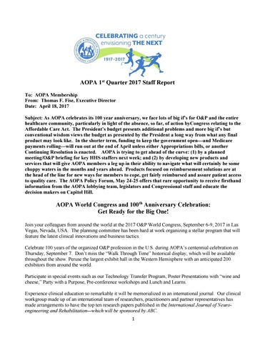 Aopa  St Quarter Staff Report By Aopa  Issuu