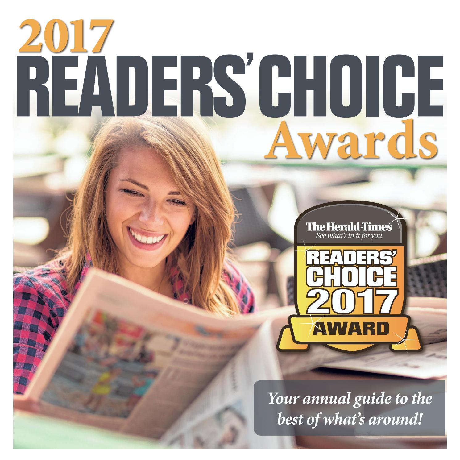 2017 Herald Times Readers Choice Awards By Hoosier Times Make Your Own Beautiful  HD Wallpapers, Images Over 1000+ [ralydesign.ml]