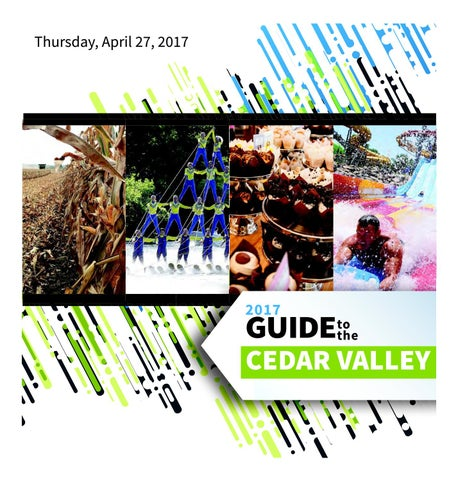 Guide to the cedar valley 2017 by waterloo cedar falls courier issuu page 1 fandeluxe Image collections