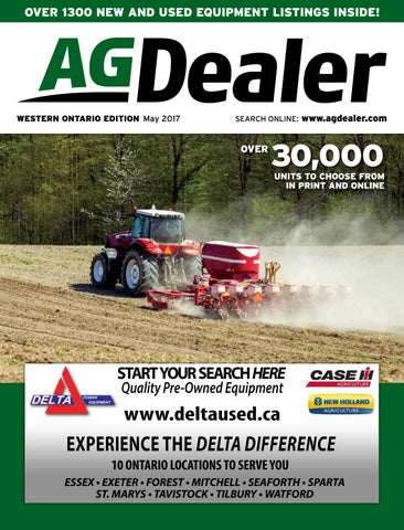 AGDealer Western Ontario Edition, May 2017