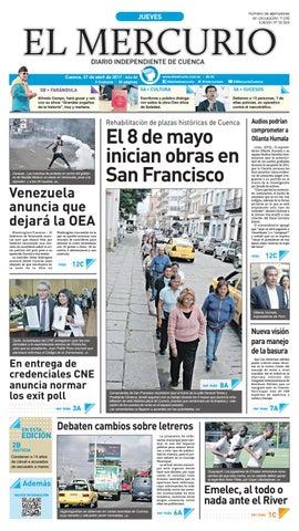 07fa9bf42 hemeroteca 27-04-2017 by Diario El Mercurio Cuenca - issuu
