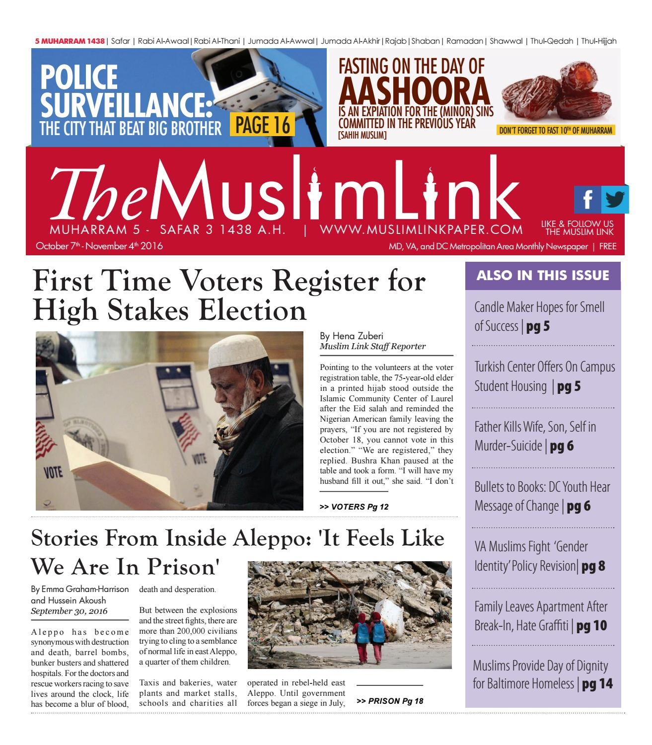 The Muslim Link, October 7, 2016 by The Muslim Link - issuu
