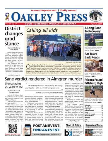 5fc24c9fdb0 Oakley Press 04.28.17 by Brentwood Press   Publishing - issuu