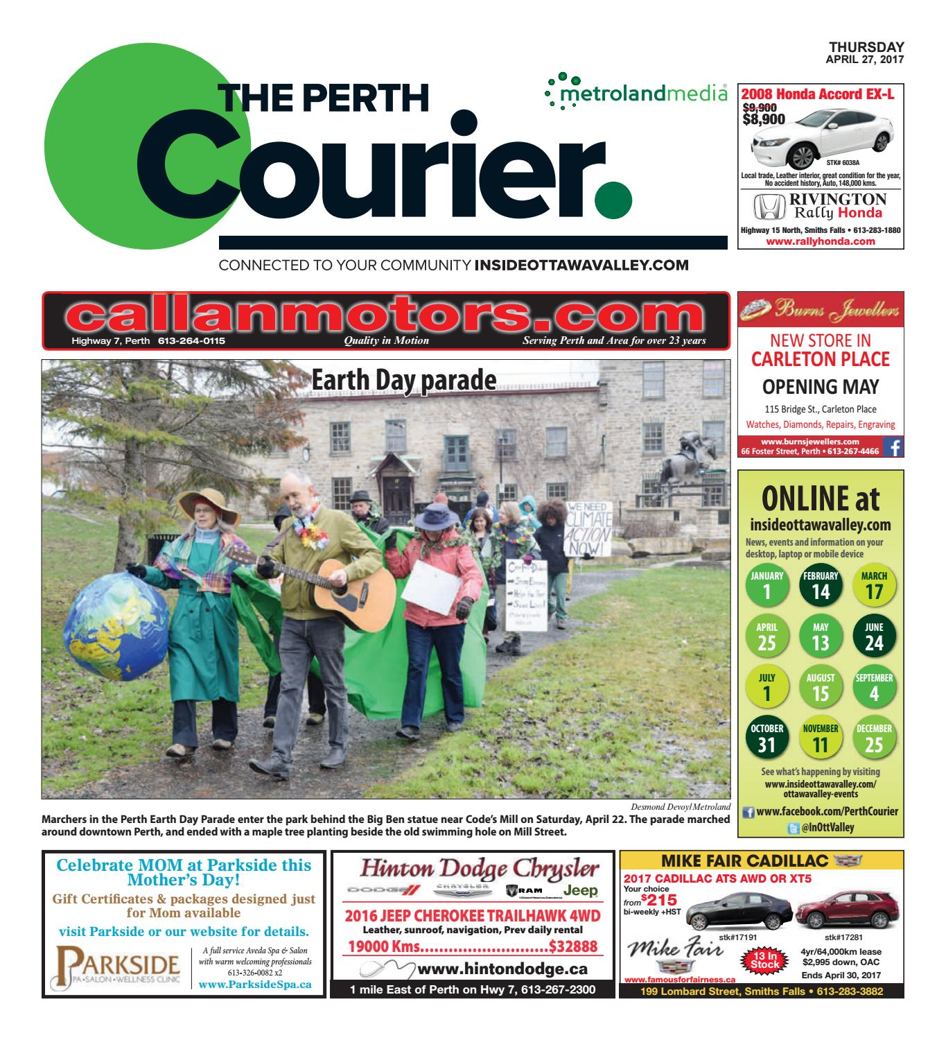 bb7dd20bf Perth042717 by Metroland East - The Perth Courier - issuu