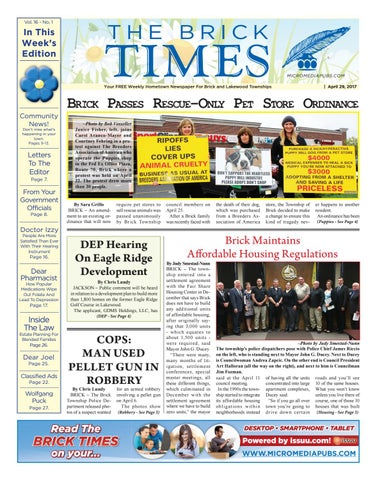 570a8f5c47 2017-04-29 - The Brick Times by Micromedia Publications Jersey Shore ...