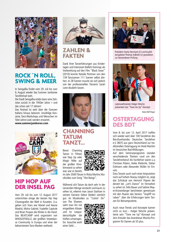 TANZEN - Das Magazin 'Tanzschule Gutmann Karlsruhe' *Ausgabe