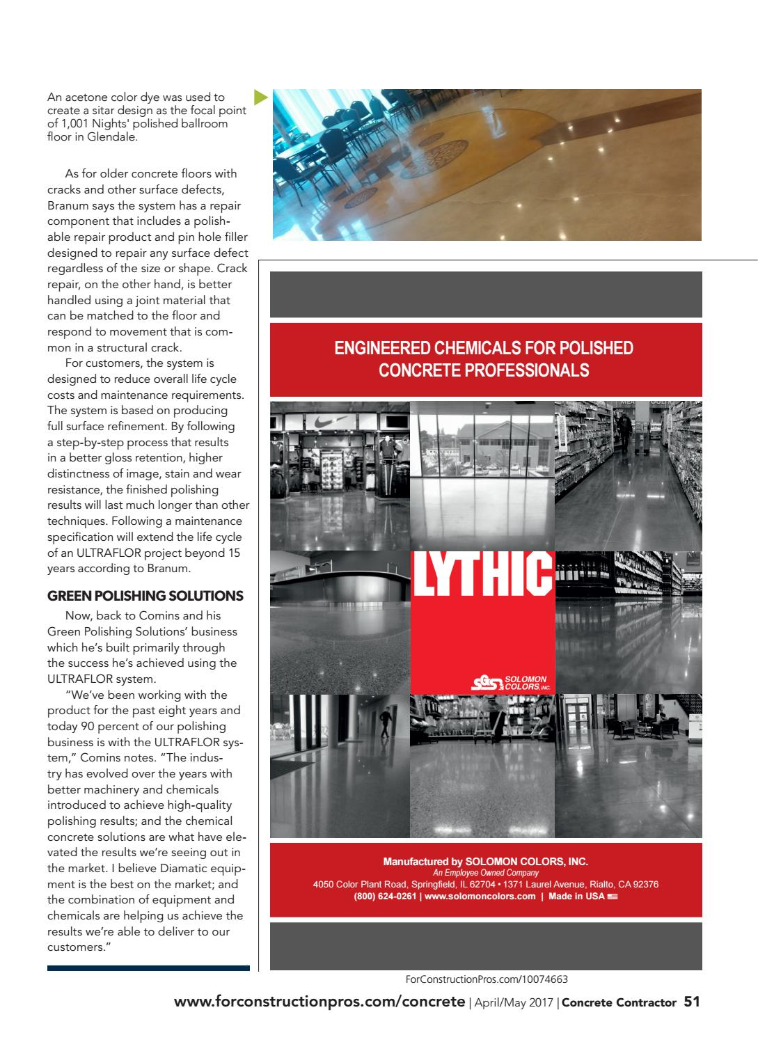 Concrete Contractor Aprilmay 2017 By Forconstructionproscom Issuu