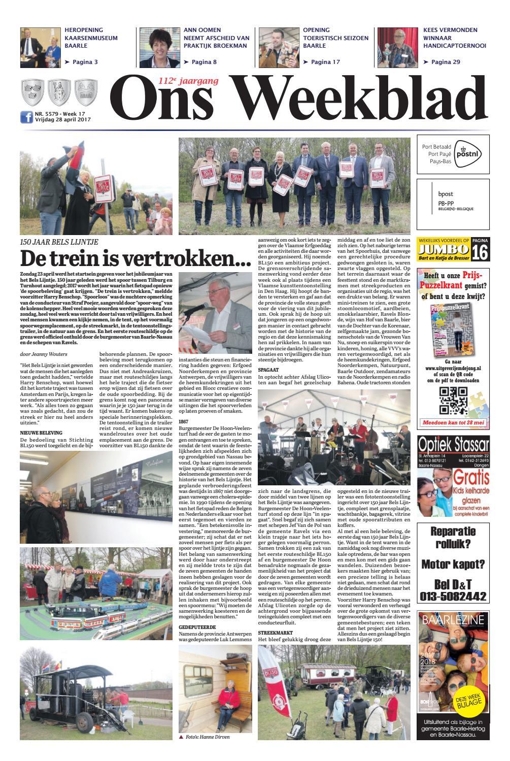 Ons Weekblad 28 04 2017 By Uitgeverij Em De Jong Issuu