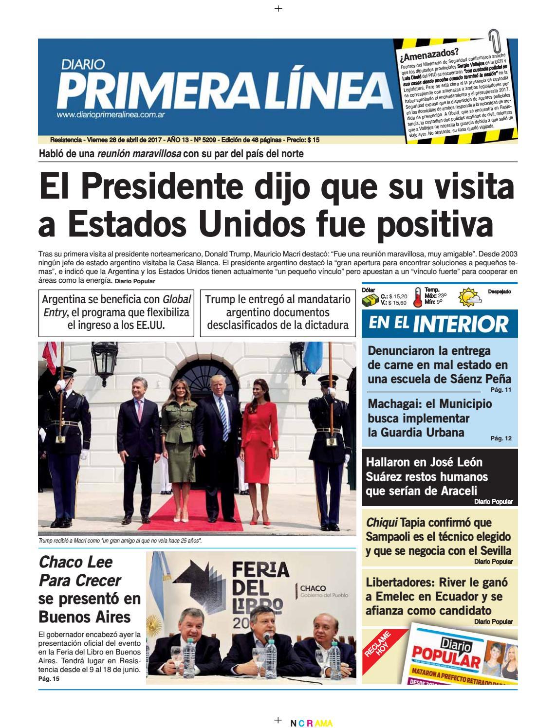 Primera Línea 5209 28 04 17 by Diario Primera Linea - issuu