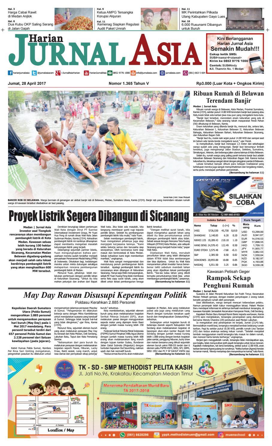 Harian Jurnal Asia Edisi Jumat 28 April 2017 By Produk Ukm Bumn Chesse Pie Khas Balikpapan Medan Issuu