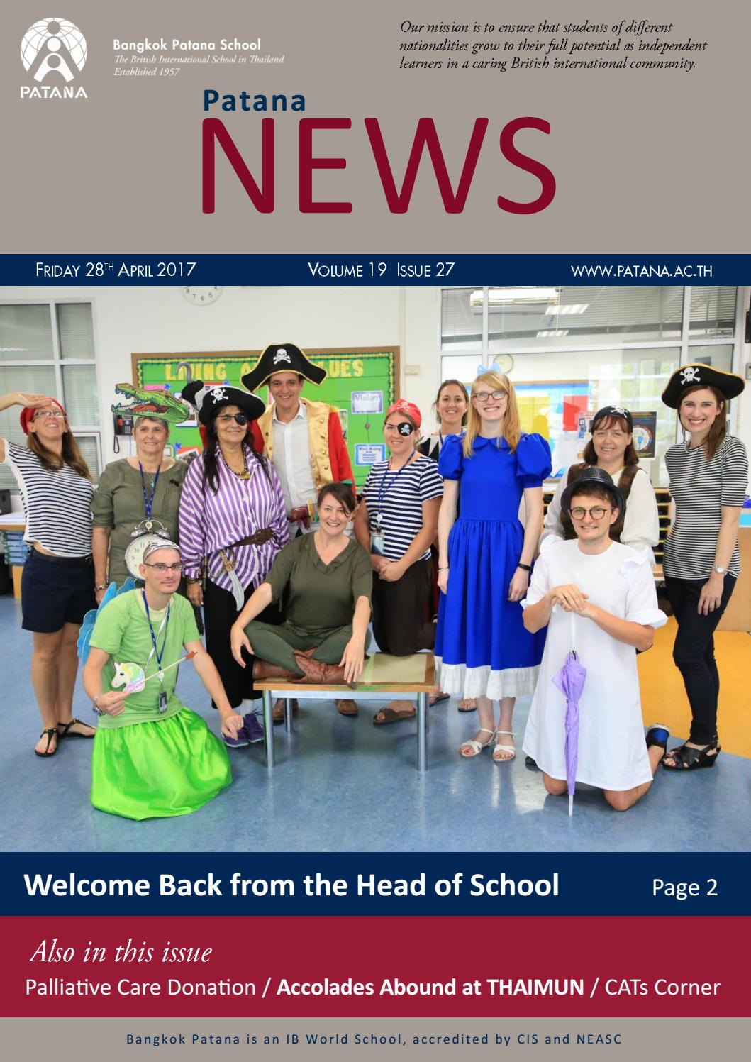 Patana News Volume 19 Issue 27 By Bangkok Patana School Issuu