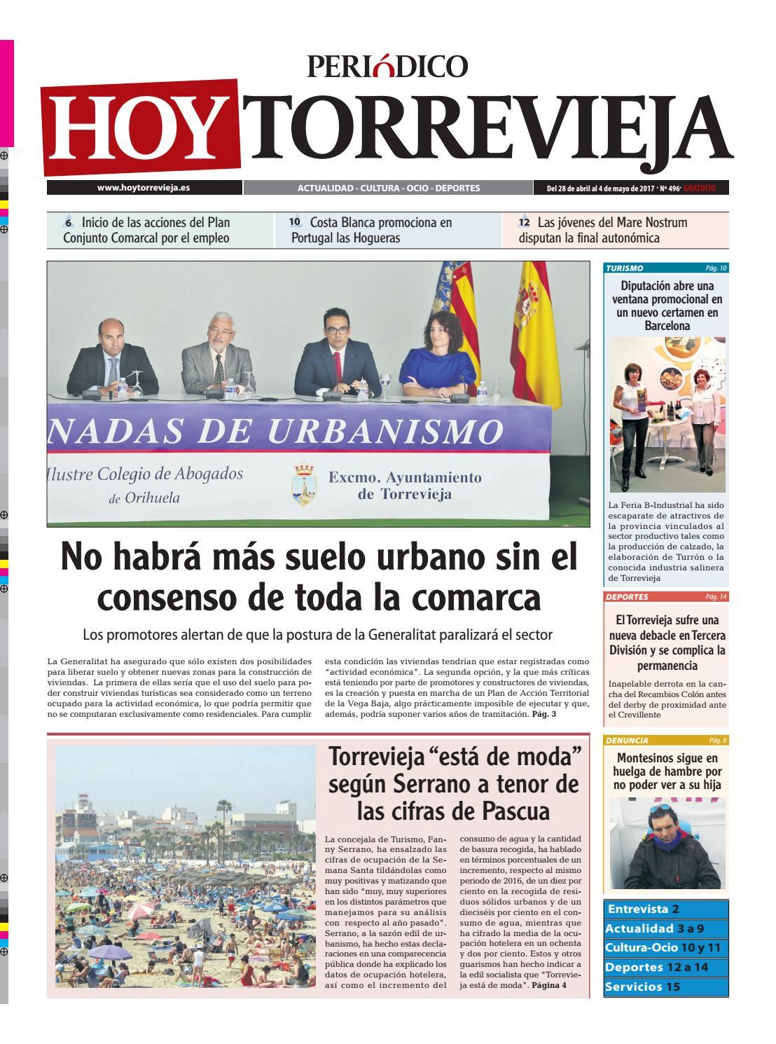 Peri Dico Hoy Torrevieja 28 4 17 N 496 By Peri Dico Hoy  # Muebles Fomento Sedavi