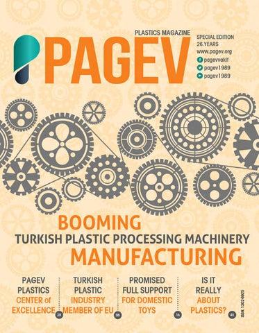 PAGEV PLASTİC MAGAZİNE by PAGEV - issuu