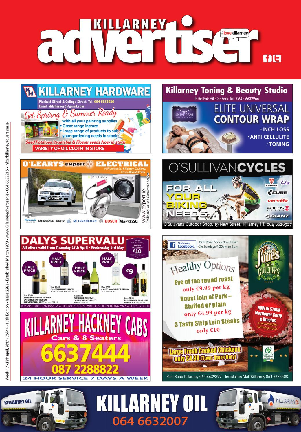 killarney advertiser 28th april 2017 by killarney advertiser issuu