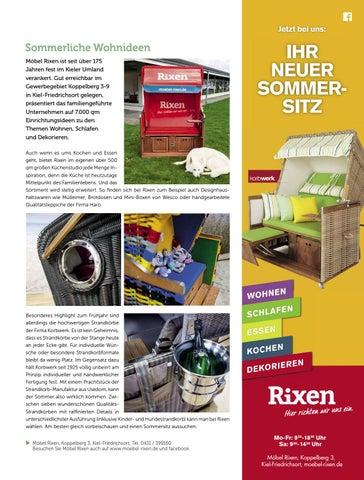Lebensart Im Norden Kiel Umgebung Mai 2017 By Verlagskontor