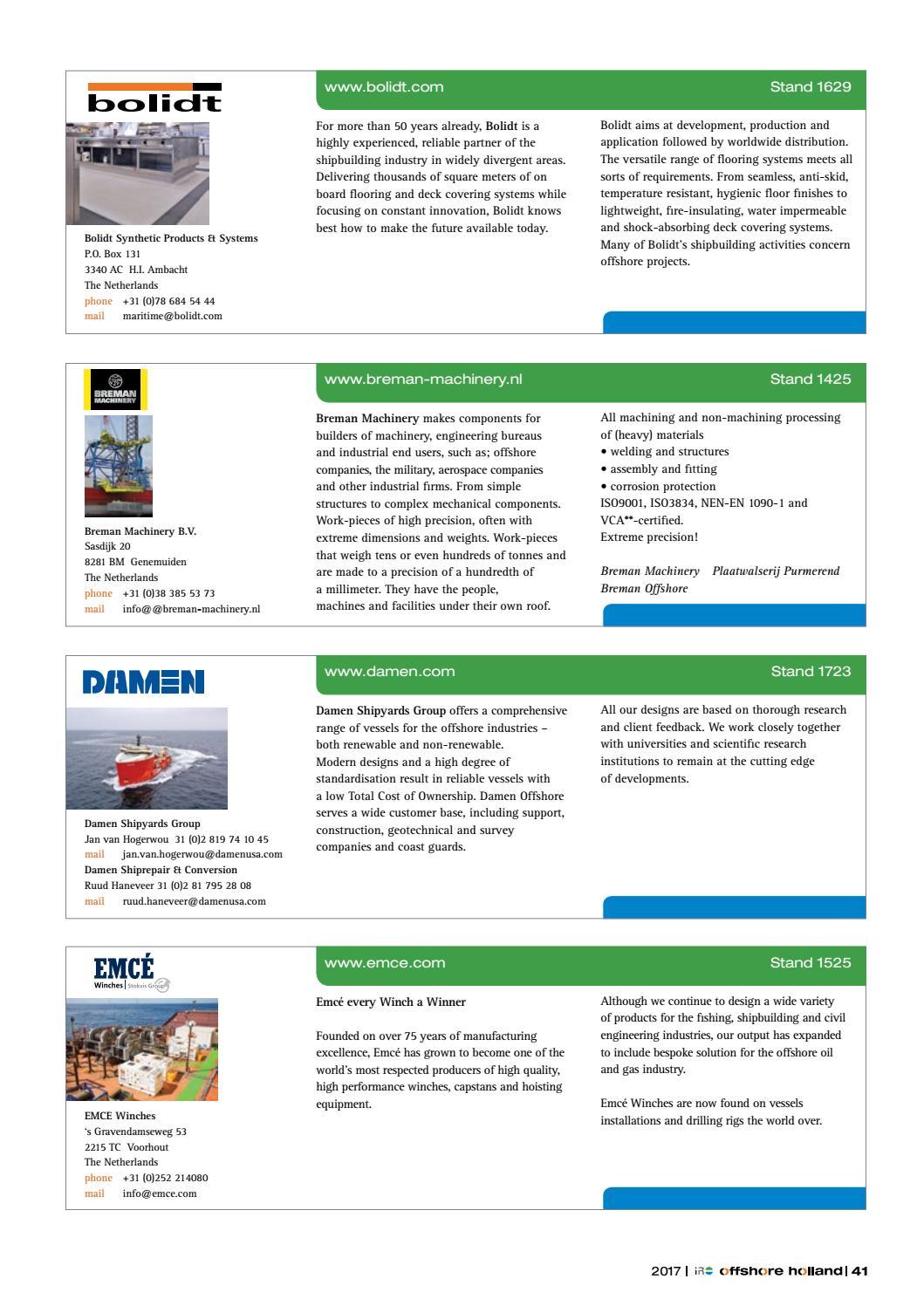 offshore holland 15 2017 by uitgeverij tridens issuu