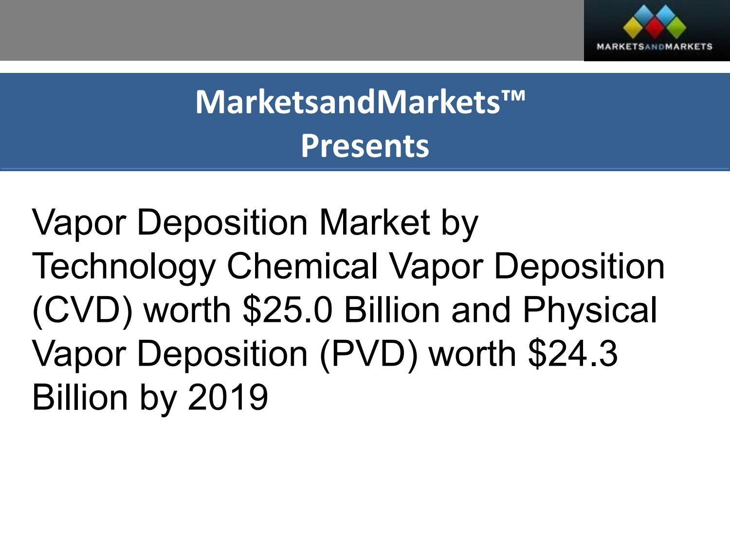 Vapor Deposition Market By Technology 151839918 Paragtk Issuu Chemical Cvd