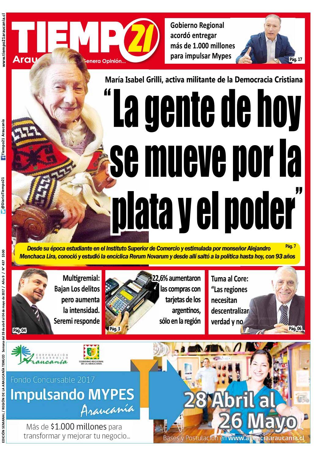 Haydee Gutierrez Menchaca edición 437, maría isabel grilli: la gente de hoy se mueve