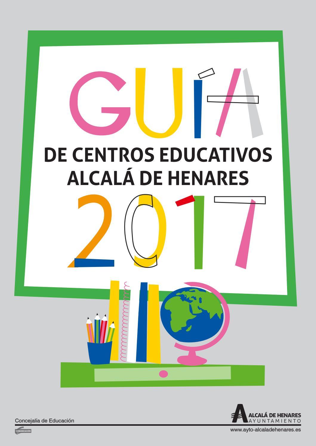 Guía De Centros Educativos De Alcalá De Henares 2017 By